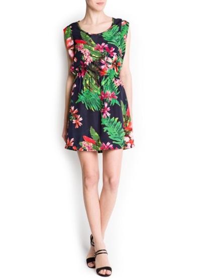 стильные платья лето 2013 Mango