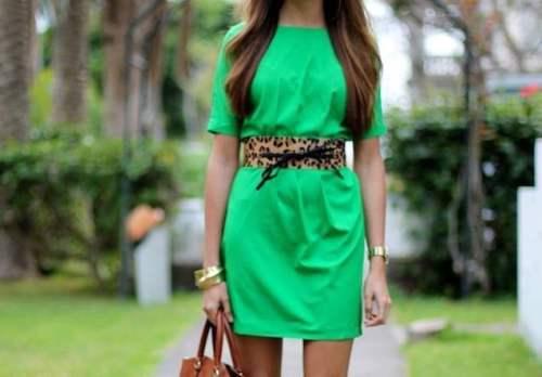 Зеленое платье фото