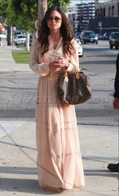 Звезды с сумками Louis Vuitton - Ванесса Миннило