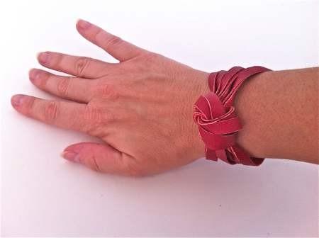 браслет из кожи своими руками - мастер класс