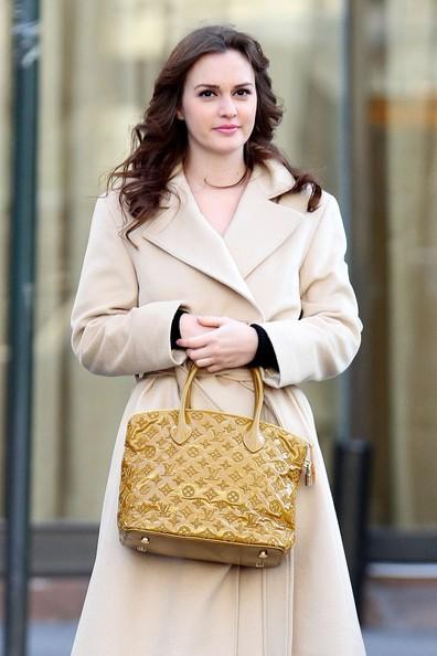 Звезды с сумкой Louis Vuitton Лейтон Мистер фото