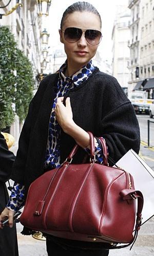 Миранда Керр с сумкой Луи Вьюттон Louis Vuitton фото