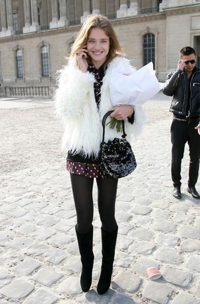 Наталья Водянова с сумкой Луи Вьюттон Louis Vuitton фото