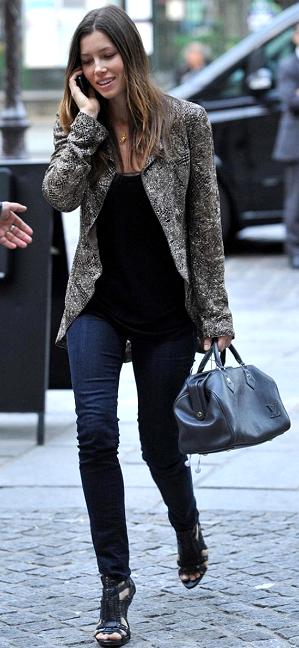 Джессика Билл с сумкой Луи Вьюттон Louis Vuitton фото