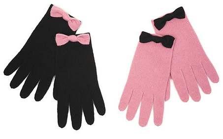 Как украсить перчатки своим руками бант