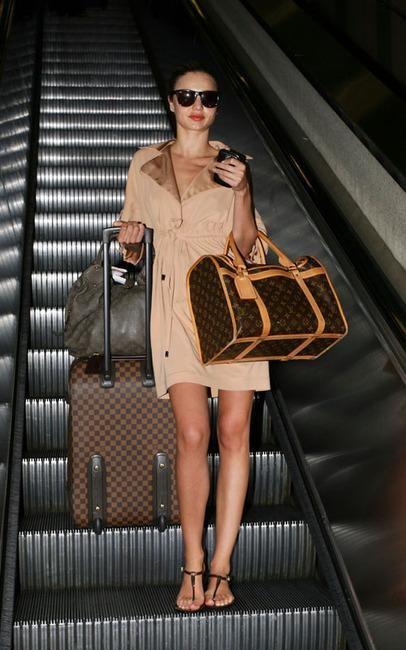 Звезды с сумками Louis Vuitton Миранда Керр