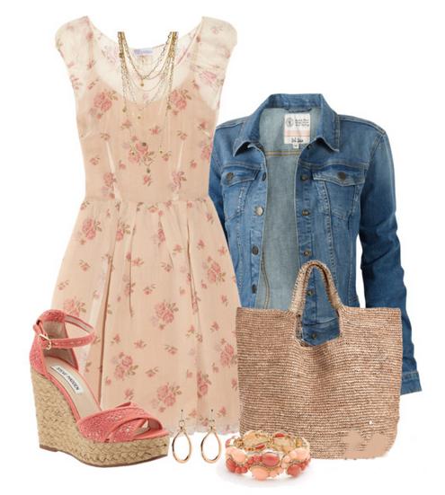 Модные сеты одежды с платьями