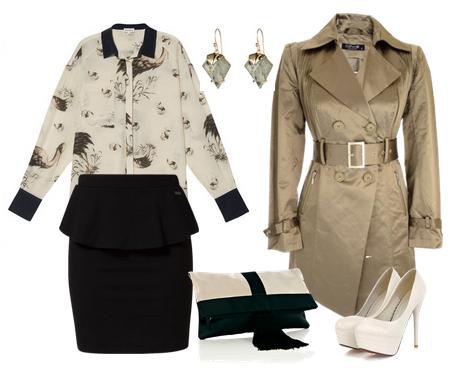 Модные сеты одежды осень 2014
