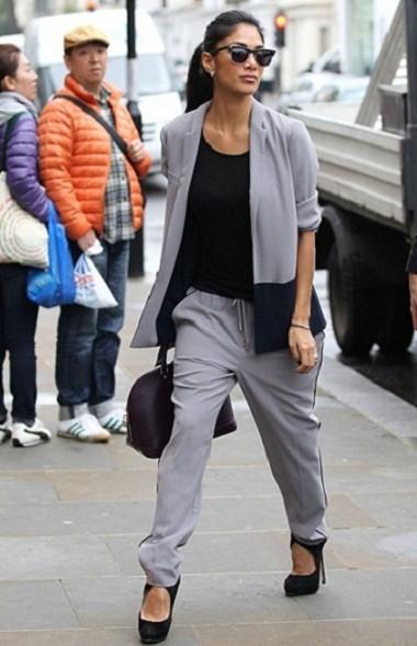 Уличный стиль одежды Николь Шерзингер (фото)