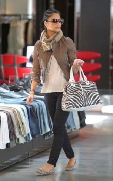 Стиль одежды Николь Шерзингер (фото)