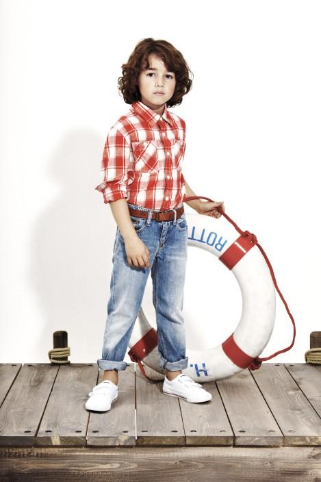 Морской стиль в детской одежде мальчики фото