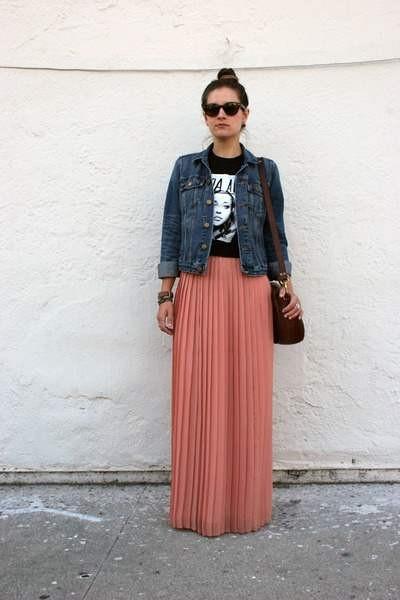 С чем носить плиссированную юбку фото и видео