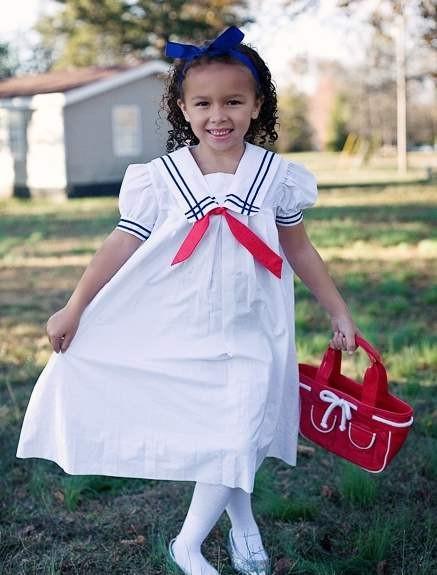 Морской стиль в детской одежде фото
