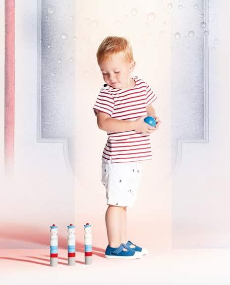 Морской стиль в детской одежде модные мальчики фото