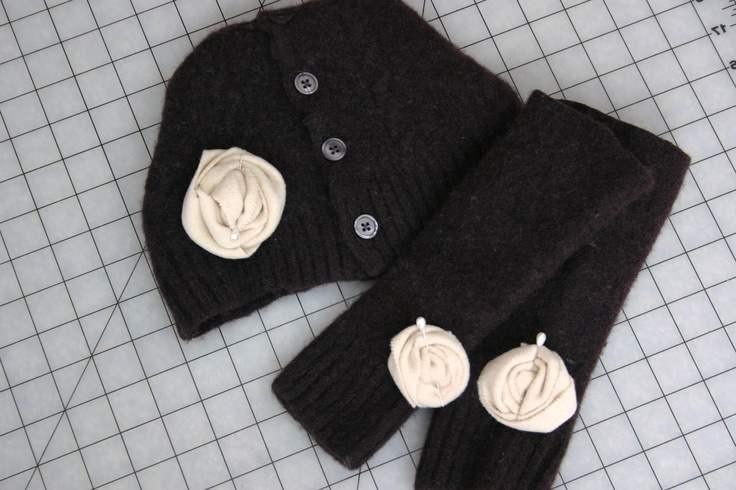 Как украсить шапку своими руками фото