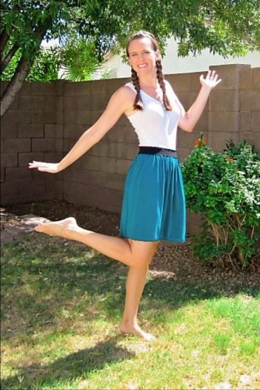 Летняя юбка на реинке фото