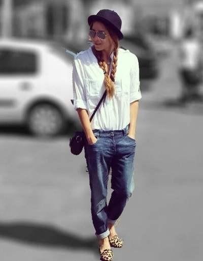 С чем носить женские туфли лоферы фото