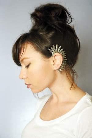 silver-ear-cuff-diy-earrings