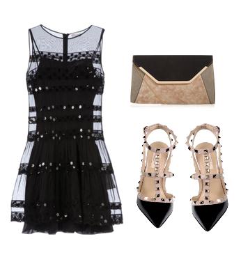 Новогодние сеты одежды с платьем