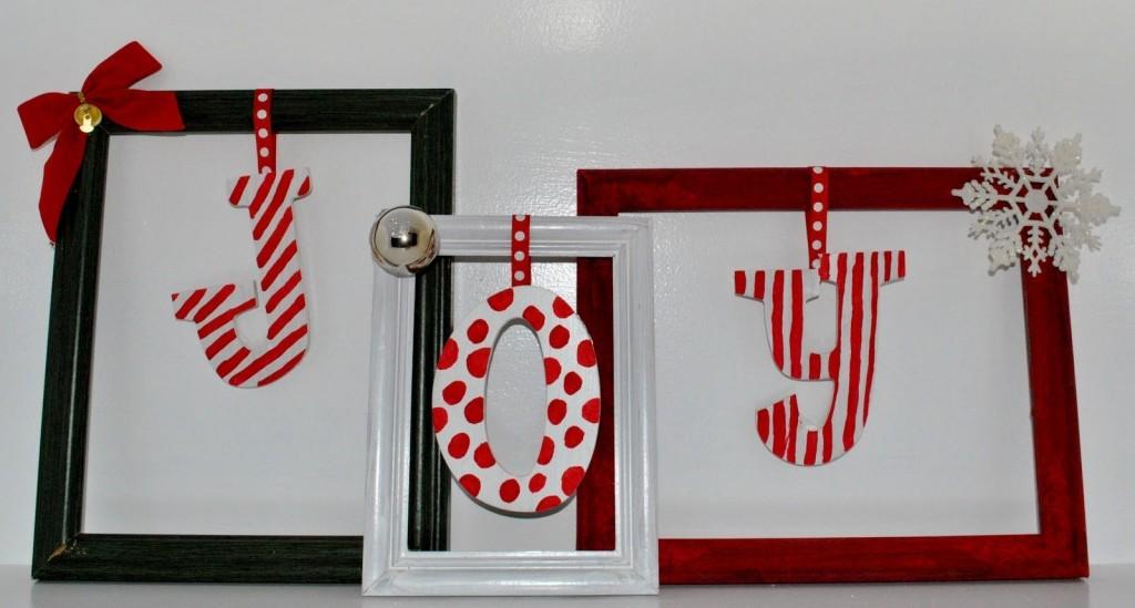 Рамки для фото Подарок на Новый Год своими руками
