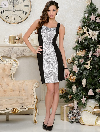 Коктейльные платья на Новый Год 2014