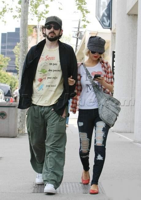 Уличный стиль одежды Кристины Агилера фото