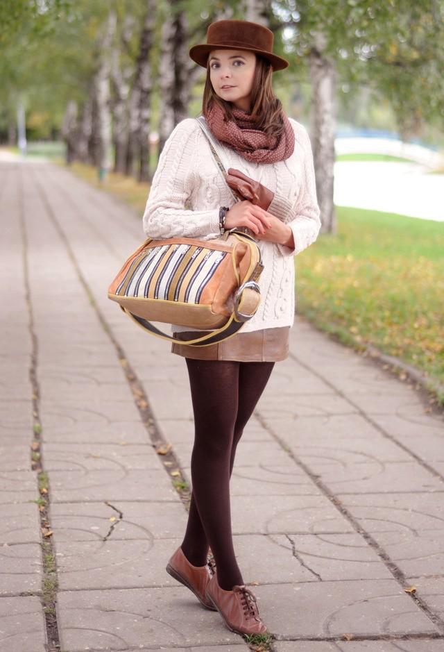 С чем носить кеды осенью (утепленные кеды)