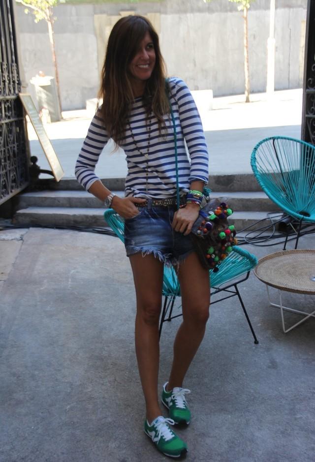 С чем носить кеды летом