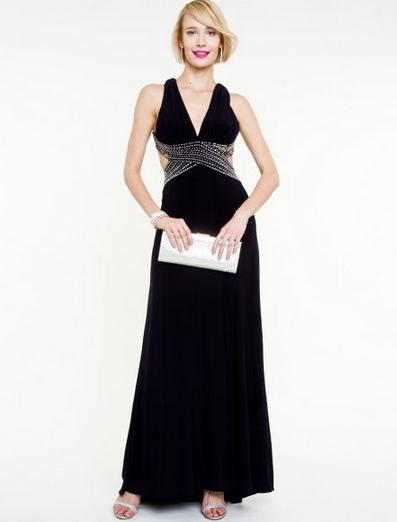 Фото длинного вечернего платья