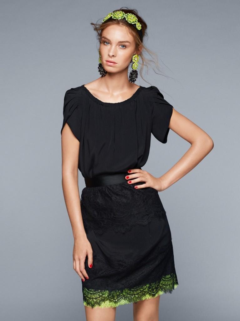 Как можно сочетать маленькое черное платье