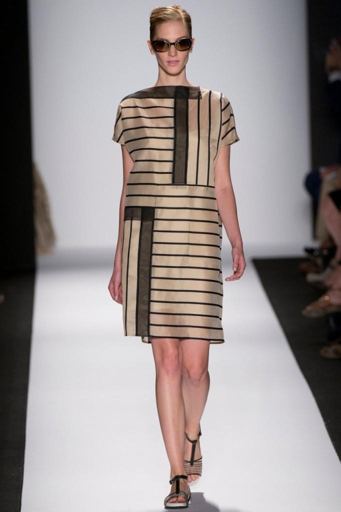 Carolina Herrera платье в полоску