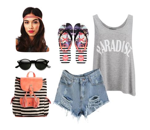 сеты одежды на лето 2014