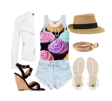 летние модные сеты 2014