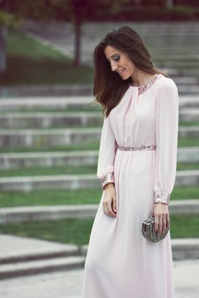 нежное воздушное платье