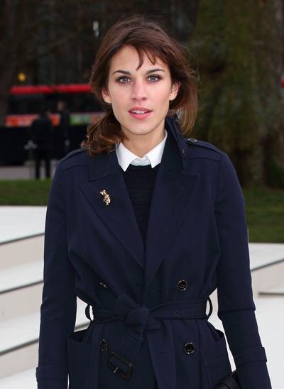 Burberry: London Fashion Week A/W 2012 - Arrivals